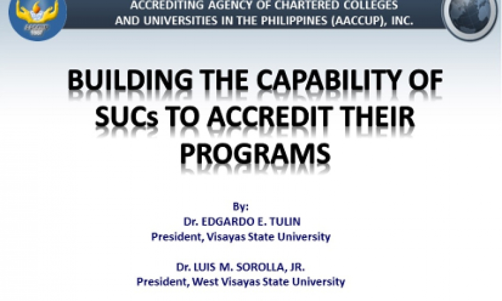 Internalization of Accreditation