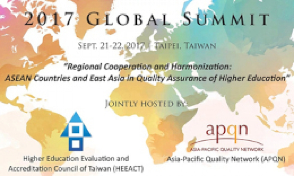 AACCUP Takes Part in the HEEACT and APQN Global Summit 2017